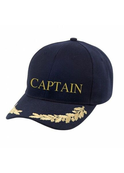 Nauticalia \'Captain & Gold Leaf\' Yachting Cap