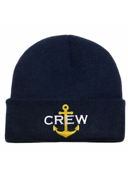 Nauticalia 'Crew & Anchor' Beanie
