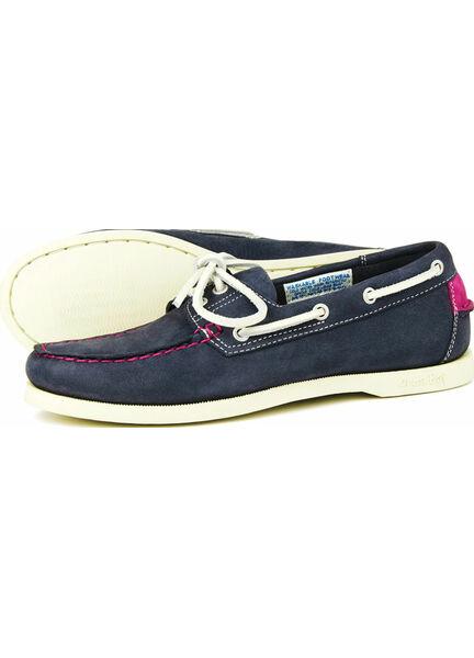 Orca Bay Sandusky Ladies Boat Shoe - Indigo/Deep Pink