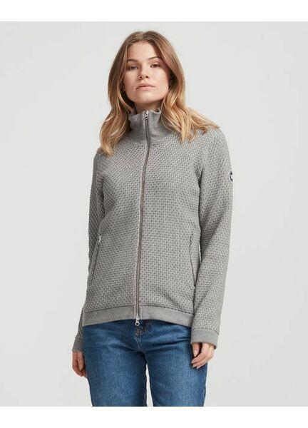 Holebrook Bobble Windproof Sweater - Grey Malange