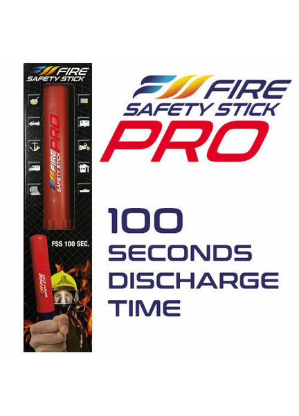 Fire Safety Stick - 100 seconds extinguishing time