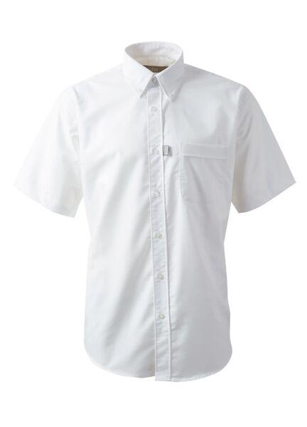 Gill Men's Short Sleeve Oxford Shirt - White
