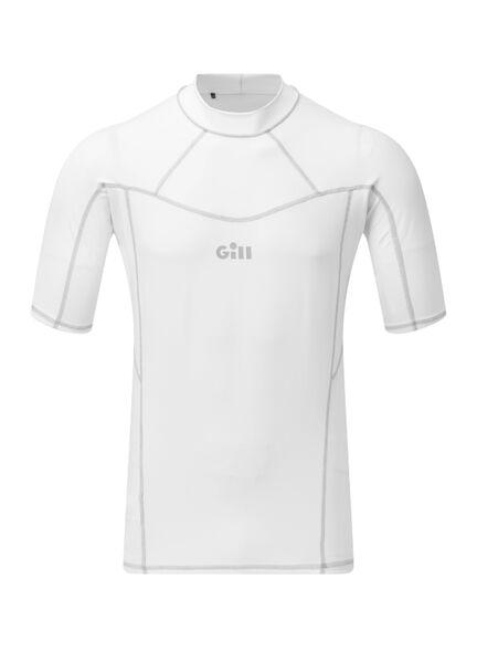 Gill Men's Pro Rash Long Sleeve Vest - White