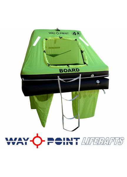 Waypoint Offshore Plus Liferaft - Cannister 4,6 or 8 man