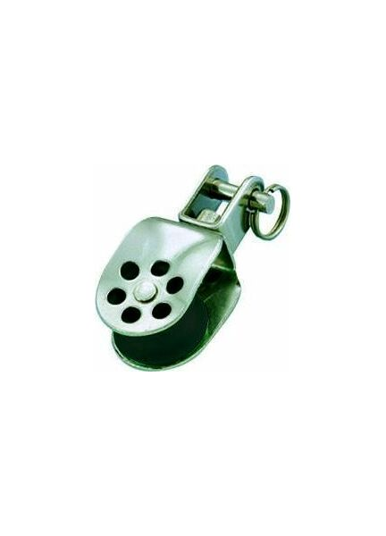 Wichard 25mm Stainless Steel Block: Single Swivel/Shackle