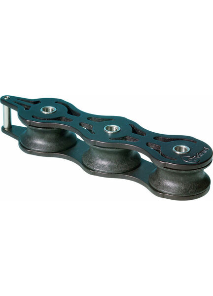 Wichard 42mm ball bearing Deck Organiser.: Triple