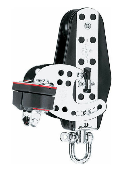 Harken 76 mm Fiddle HexaRatchet Block Cam Cleat