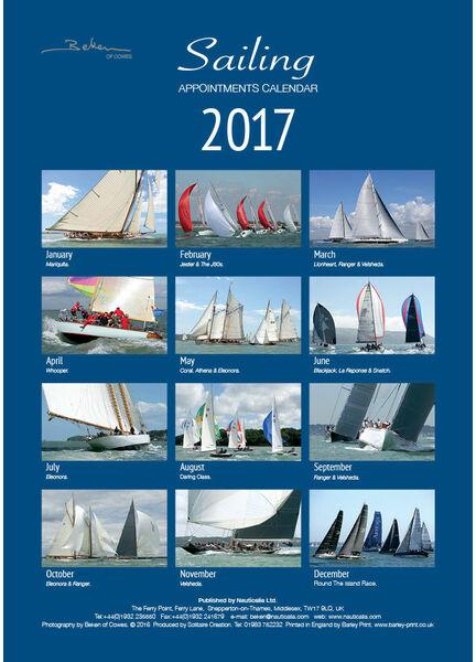 Nauticalia Beken Sailing 'Appointment' Calendar 2019