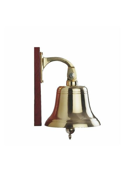 Nauticalia Brass Ship's Bell - 7 Inch