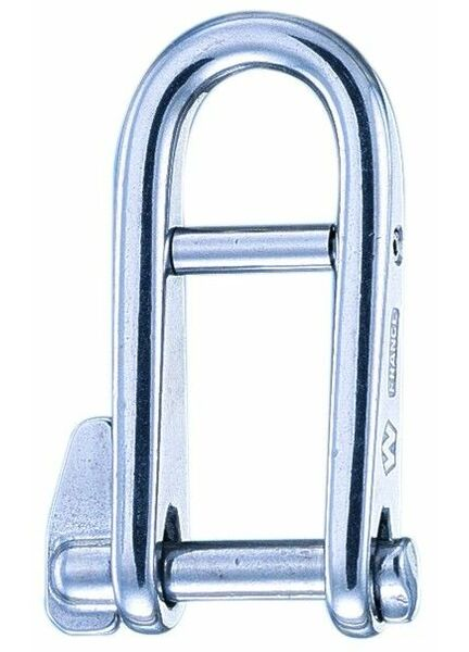 "Wichard 6mm ""HR"" Key Pin Shackle + Bar"