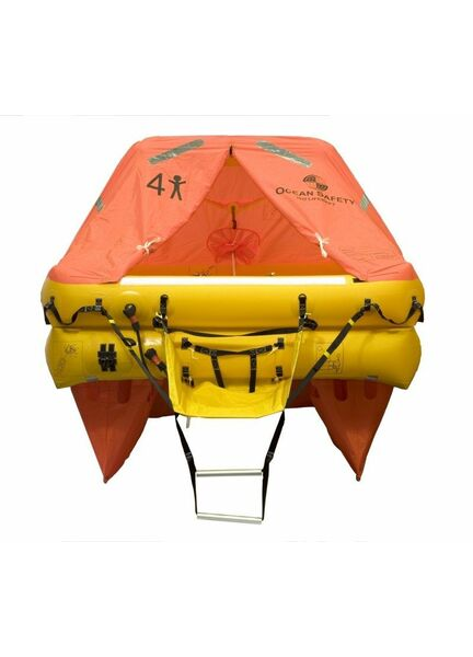 Ocean Safety Ocean 4V 4 Person ISO9650 SOLAS B Liferaft