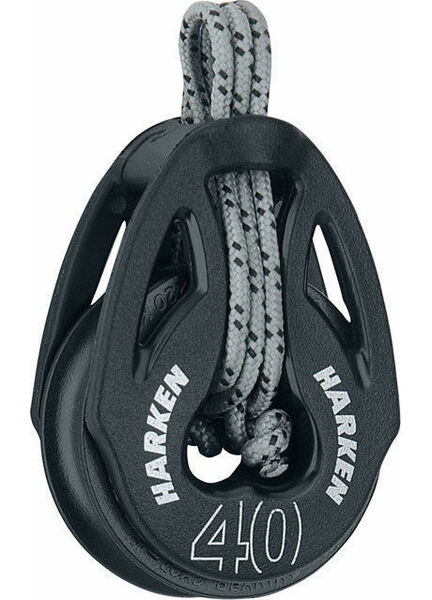 Harken 40 mm Soft-Attach Block