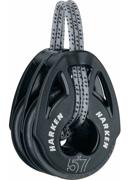 Harken 57 mm Soft-Attach Double Block