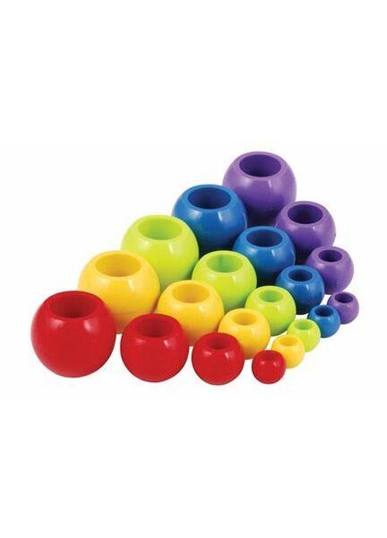 Allen 5X19mm Ball Stopper - Yellow (Pack of 2)