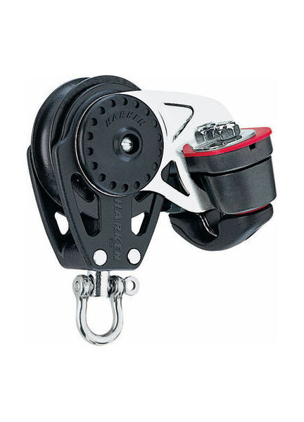Harken 40 mm Block Swivel, Cam Cleat