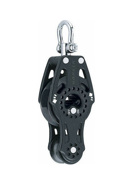 Harken 75 mm Fiddle Ratchet Block Swivel