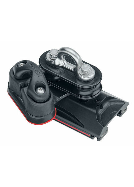 Harken 22 mm High-Load Car Pivoting Sheaves, Cam Cleat