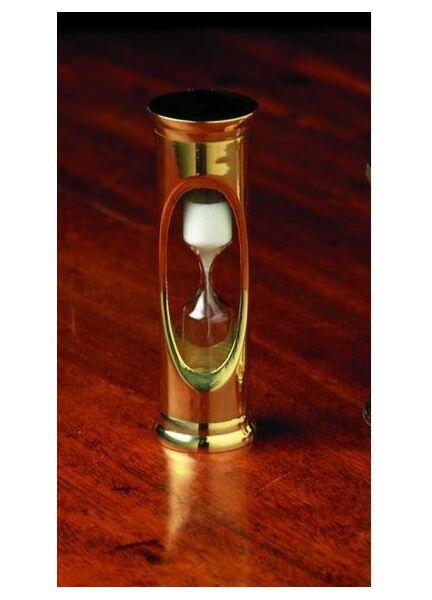 Nauticalia Brass Egg Timer - 9 cm