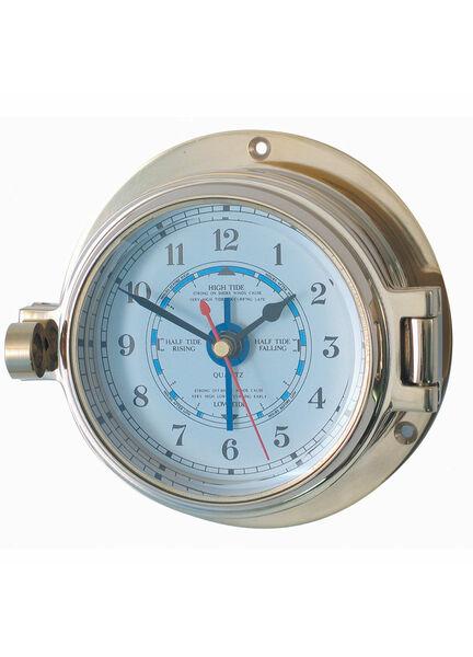 Meridian Zero Solid Brass Channel Tide Clock