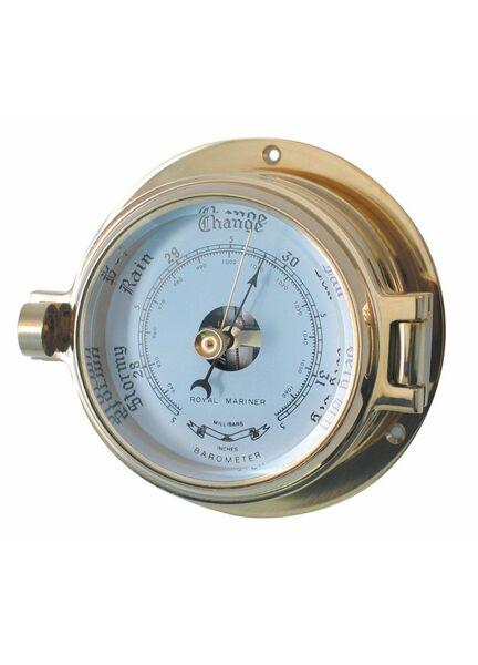 Meridian Zero Channel Brass Barometer
