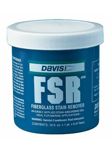 Davis FSR Fiberglass Stain Remover
