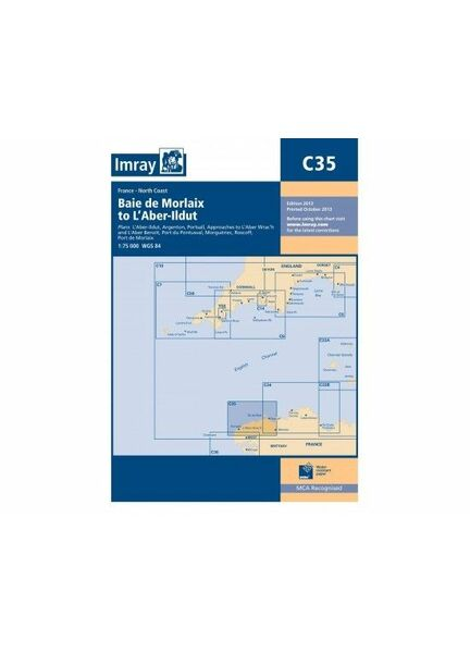 Imray C35 Baie de Morlaix to L~Aber-Il dut