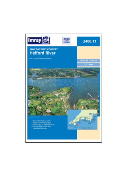 Imray 2400.11 Helford River