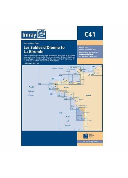 Imray C41 Les Sables d'Olonne to La Gironde