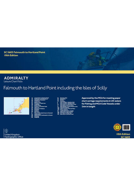 Admiralty SC5603 Falmouth to Padstow including Isles of Scilly (Small Craft Folio)