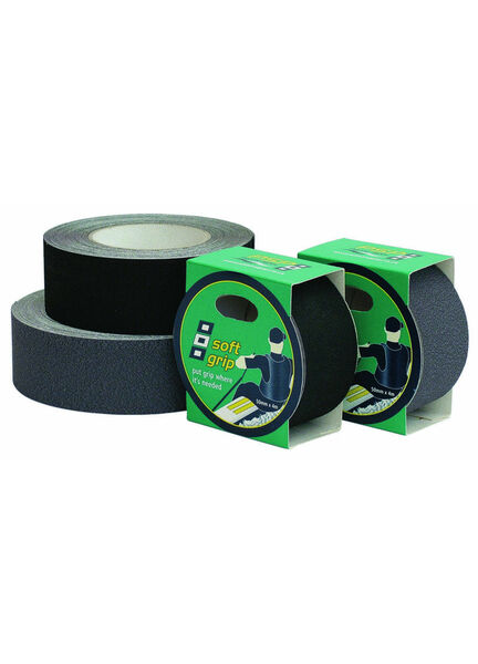 Soft Grip Tape : 50mm x 4M - Black