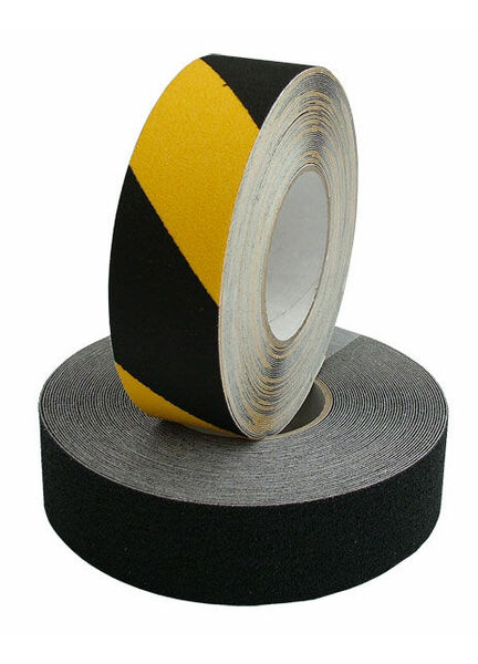 Heavy Duty Safety Tread: 25mm x 18M-Hazard