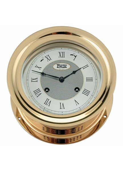 Weems & Plath Anniversary Series Brass Clock/Barometer