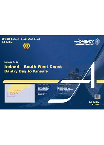 Admiralty SC5623 Ireland - South West Coast Bantry Bay to Kinsale