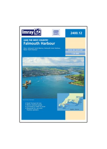 Imray 2400.12 Falmouth Harbour Chart