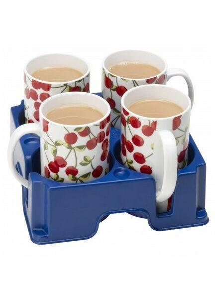 Muggi Super Safe Cup & Mug Tray - Blue