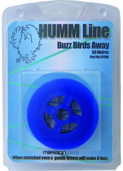 Meridian Zero 30m Long Humm Line - Scare Birds Off Moored Boats