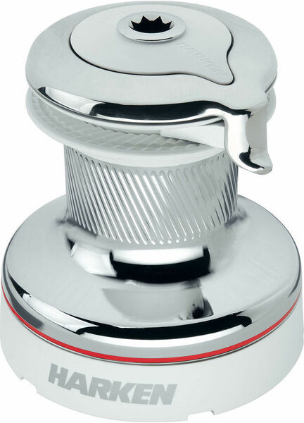 Harken 46 Self-Tailing Radial White Winch 2 Speed