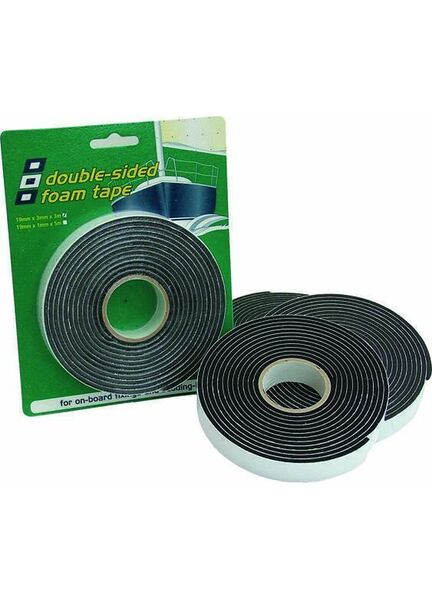 PSP Tapes Double Vinyl Foam Tape: 19mm x 3mm x 3M