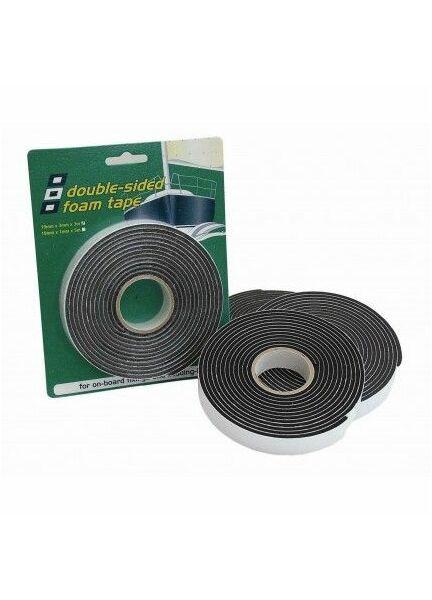 PSP Tapes Double Vinyl Foam Tape: 19mm x 1mm x 5M