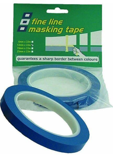 PSP Tapes Fineline Masking: 19Mm X 33M