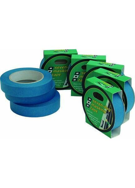 PSP Tapes Blue 7 Day Masking: 25Mm X 25M