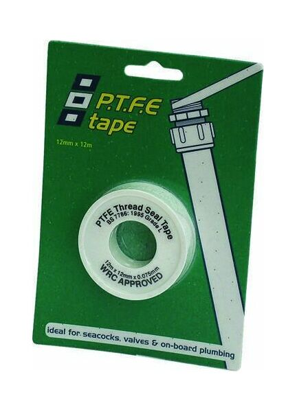 PSP Tapes Ptfe Pipe Seal: 12Mm X 12M