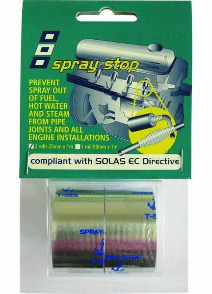 PSP Tapes Spray Stop: 50Mm X 1M