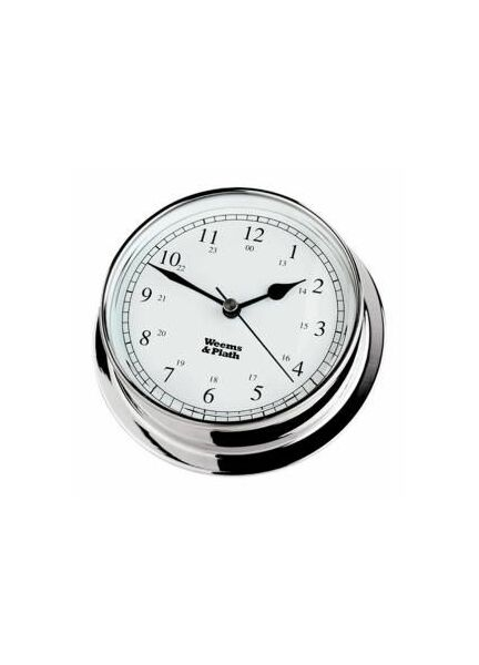 Weems & Plath Endurance 085 Chrome Clock