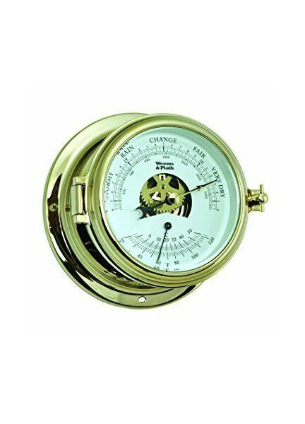 Weems & Plath Endurance II 115 Barometer and Thermometer (Brass)