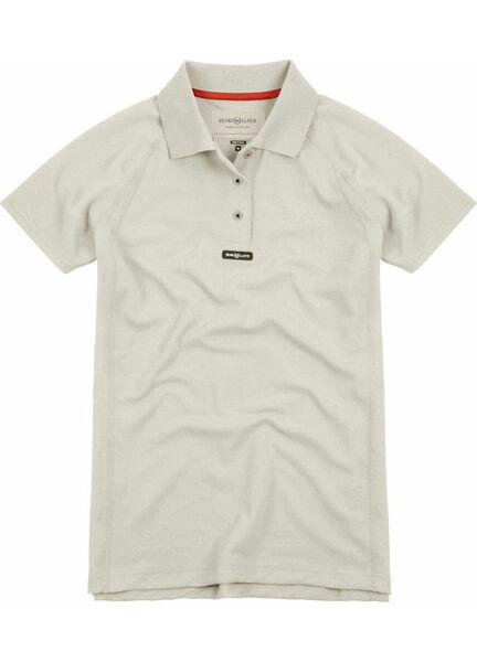 Henri Lloyd Women's Fast-Dri Silver Polo T-Shirt