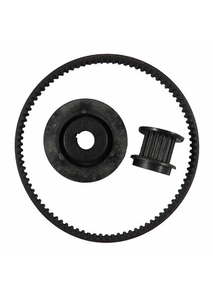 Jabsco 58541-1000 Pulley and Belt Kit (Contains Small and Large Pulley,Belt and Clip)