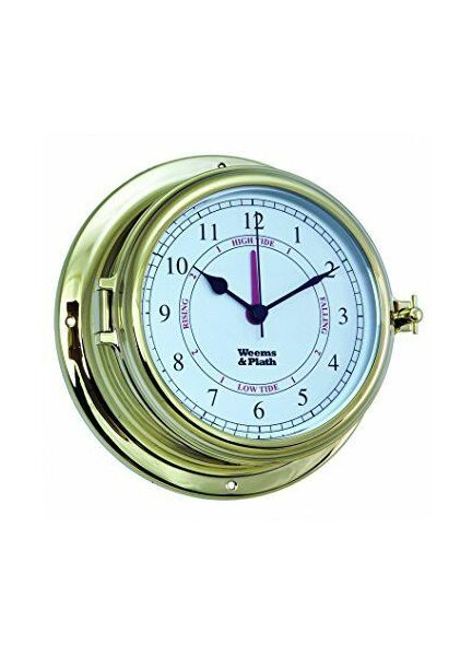Weems & Plath Endurance II 115 Time and Tide Clock (Brass)