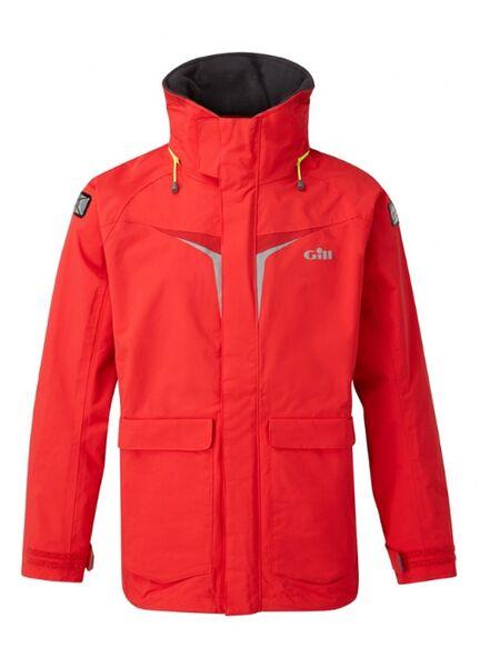 Gill OS3 Coastal Men's Jacket - Dark Blue/Bright Red/Graphite