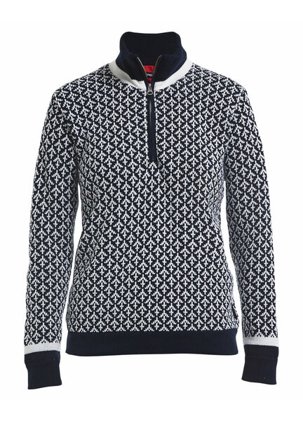 Holebrook Olga T neck Woman's windproof jumper